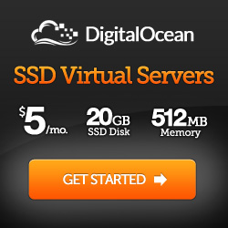 Digital Ocean Virtual Private Server Hosting